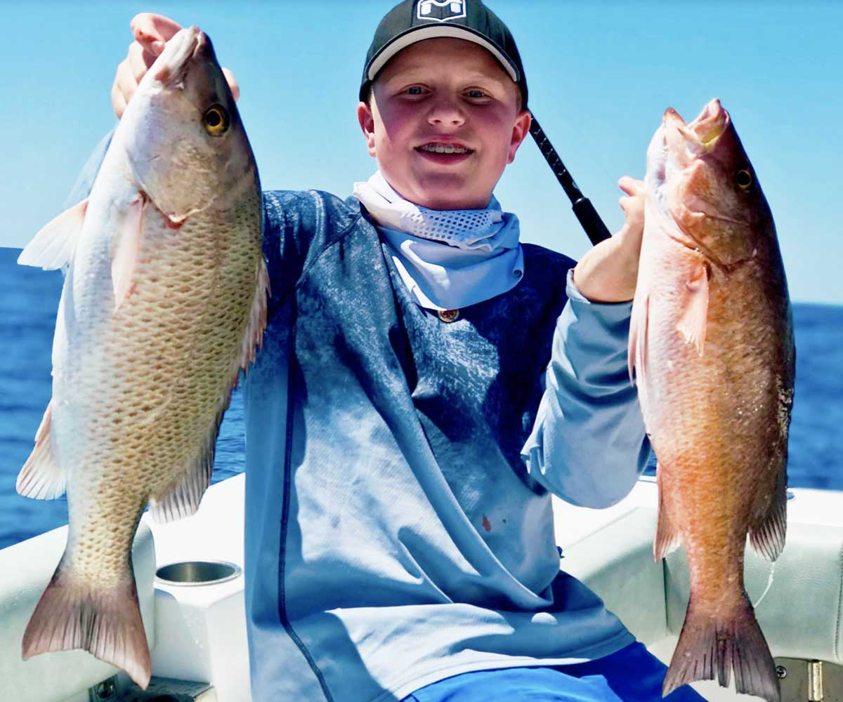 snappers inshore